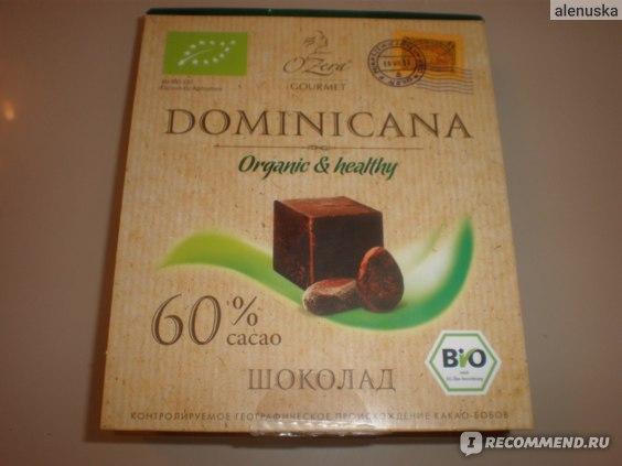 Шоколад Озерский сувенир O'Zera Dominicana BIO фото
