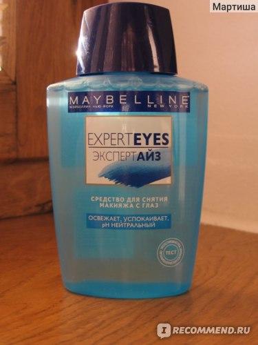 Средство для снятия макияжа с глаз MAYBELLINE  Expert Eyes фото