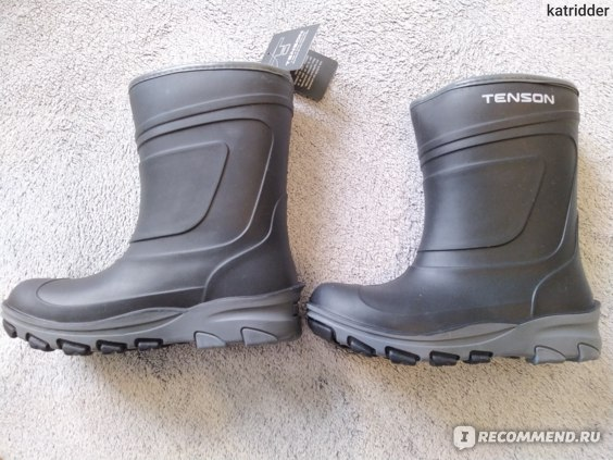 Резиновые сапоги Tenson  Rubber Wellies Alfon Black фото