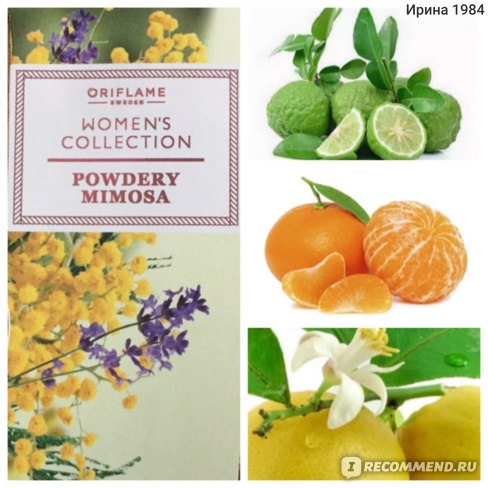 Oriflame Women´s Collection Powdery Mimosa фото