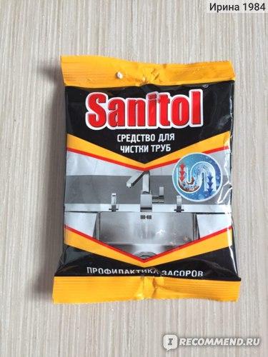 Средство для прочистки труб  Sanitol фото