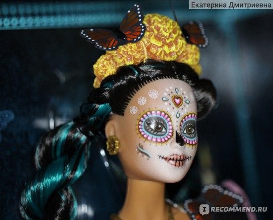 Barbie Кукла Dia De Muertos Doll фото