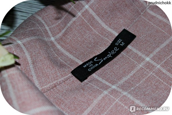 Костюм AliExpress Simplee Fashion plaid women blazer suits Long sleeve double breasted blazer pants set Pink office ladies two-piece blazer sets