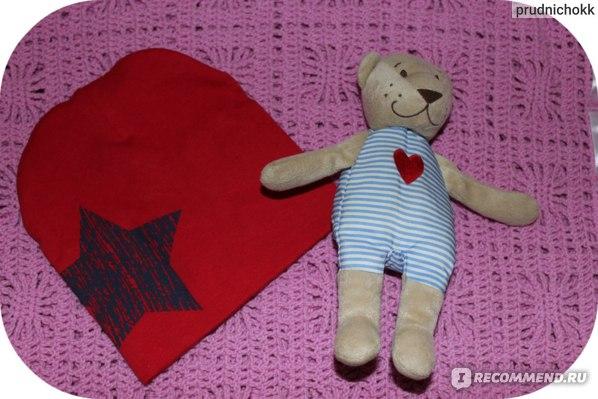 Шапочка детская AliExpress Hot Baby Kid Toddler Cute Stars Printed Hat Soft Warm Cotton Girl Boy Beanie Cap фото