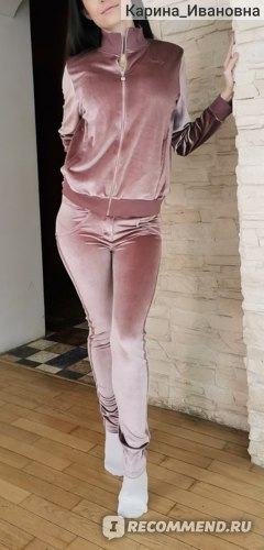 Спортивный костюм Freddy WR.UP® Tracksuit - Soft Chenille With Glitter Bands - P108 - Light Pink фото