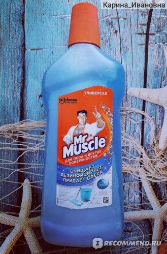 Моющее средство для пола и других поверхностей Mr Muscle Glade После дождя фото