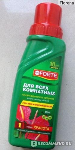 Bona Forte Удобрение для всех комнатных растений с магнием и янтарной кислотой фото