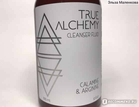Флюид для умывания True Alchemy Cleansing Fluid Calamine & Arginine фото