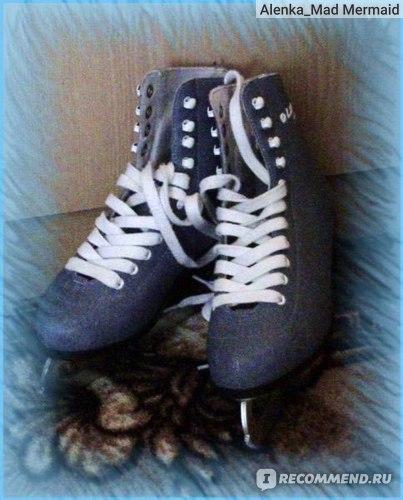 Фигурные коньки  Larsen jeans blue фото