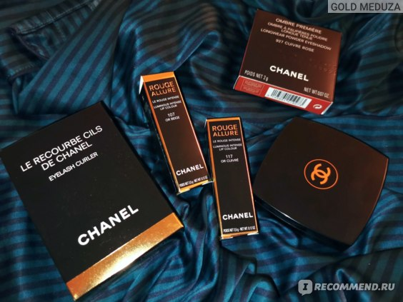 Губная помада Chanel Rouge Allure Lipstick Les Chaînes D'Or Holiday 2020