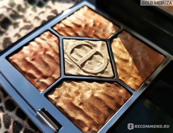 Палетка теней для век Dior 5 Couleurs Eyeshadow Summer Dune 2021 фото