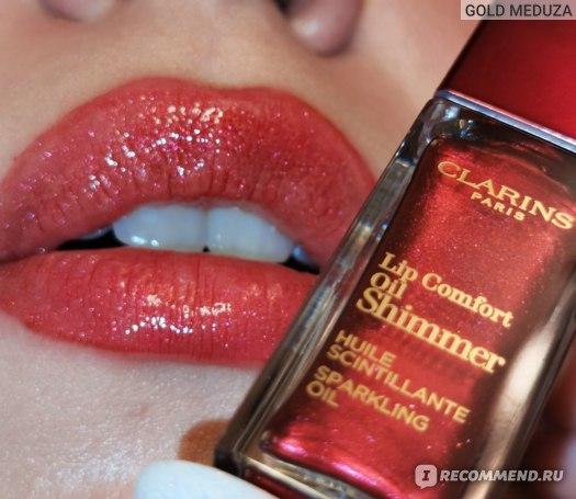 Масло для губ Clarins Lip Comfort Oil Shimmer Spring Summer 2021 фото