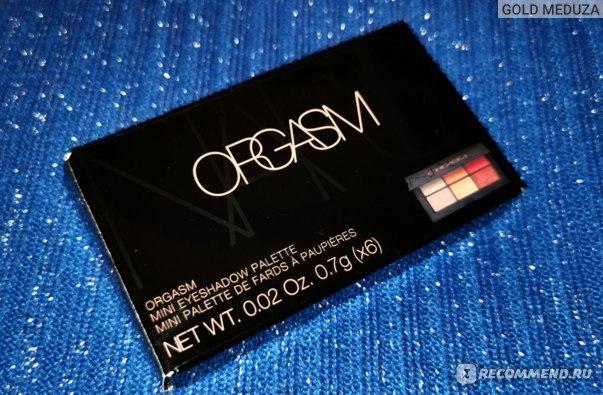 Палетка теней для век NARS Orgasm X Mini EYESHADOW Palette