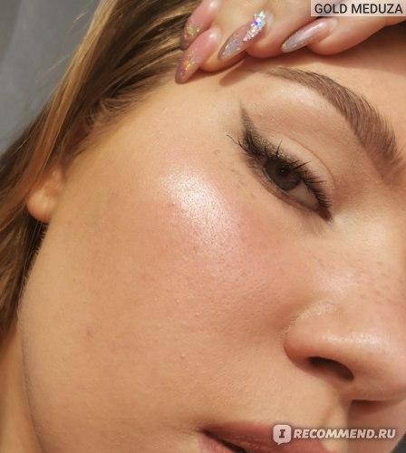 Макияж с Dior Summer Skin Tint (Light) + пудра га Т-зоне