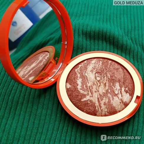 Бронзирующая мерцающая пудра Pupa Escape Bronzing Highlighter Baked Jelly Powder Summer фото