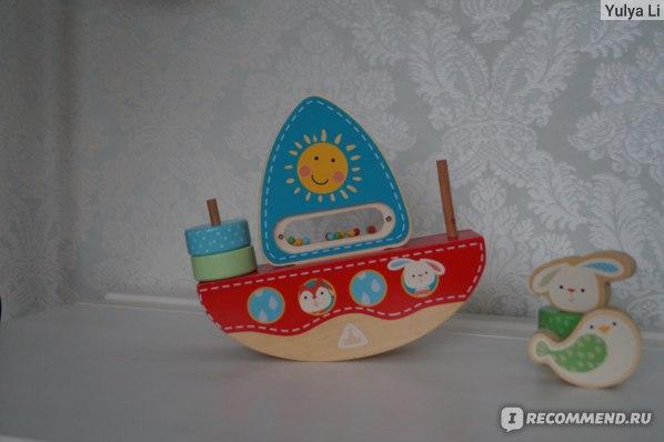 """ELC Детская игрушка """"Лодка"""" из дерева фото"""