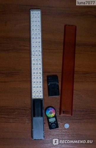 Осветитель светодиодный Yongnuo YN-360 III RGB 3200-5500K отзывы