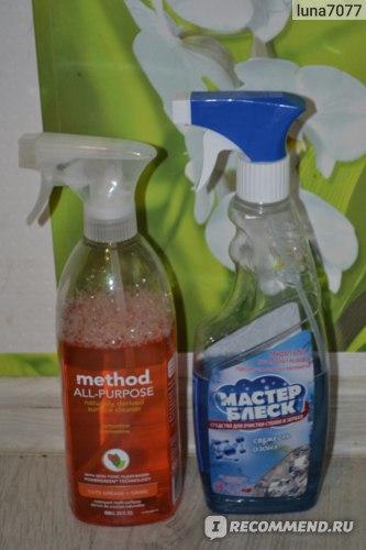 Универсальное чистящее средство Method All-Purpose Natural Surface Cleaner, clementine фото