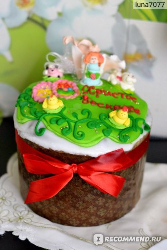 Кулич Пекарня Sofi пасхальный большой (№ 12) фото