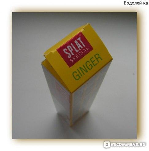 Зубная паста SPLAT GINGER / Имбирь фото