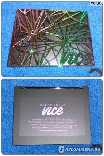 Тени для век Urban Decay Vice 4 Eyeshadow Palette фото
