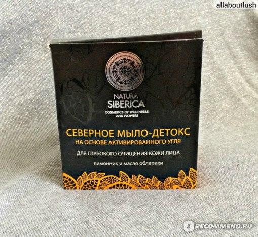 Мыло Natura Siberica Северное мыло-детокс фото