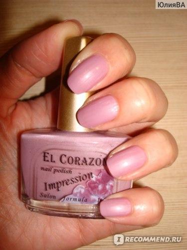 Лак для ногтей EL CORAZON серия Impression фото