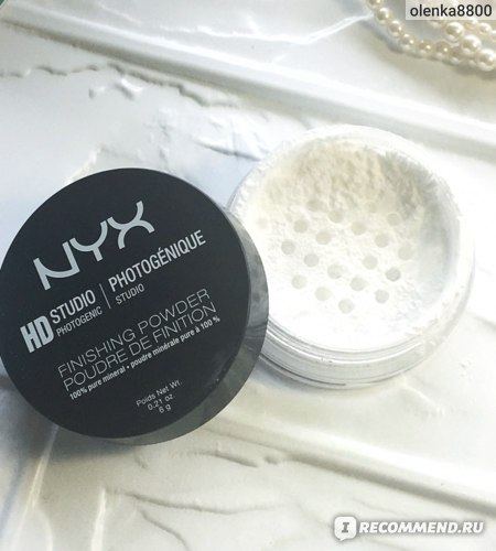 Пудра рассыпчатая NYX HD Finishing Powder фото