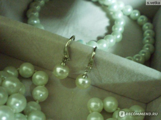 Серьги Aliexpress Серебряные GS brand EZ-14 2013 fashion high quality pearl & 925 stamp silver & platinum plated female drop earrings jewelr фото