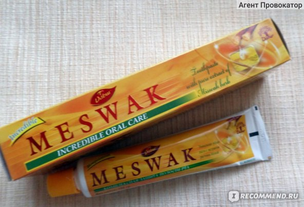 Зубная паста Dabur Meswak фото