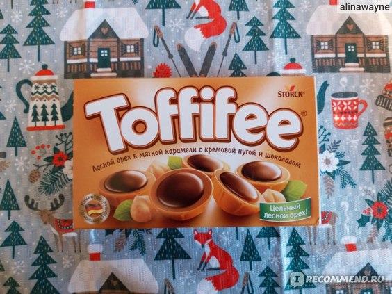 Конфеты Toffifee  фото