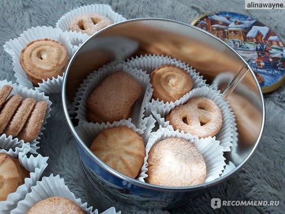 Печенье Jacobsens Bakery Winter Village
