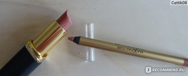 Карандаш для губ Max Factor Colour Elixir Lip Liner фото