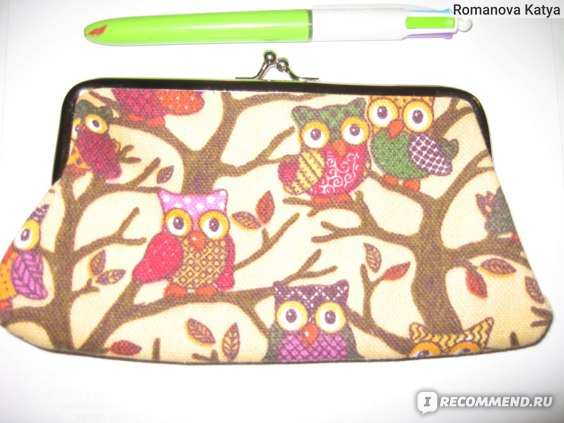 Кошелек-клатч Ebay New Fashion Women Lovely Style Lady Wallet Hasp Owl Purse Clutch Bag Applied фото