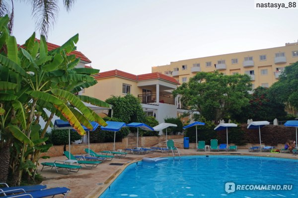 Jacaranda Hotel Apartments 3*, Кипр, Протарас фото