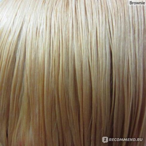 После второго осветления (влажные волосы, искусственный свет)