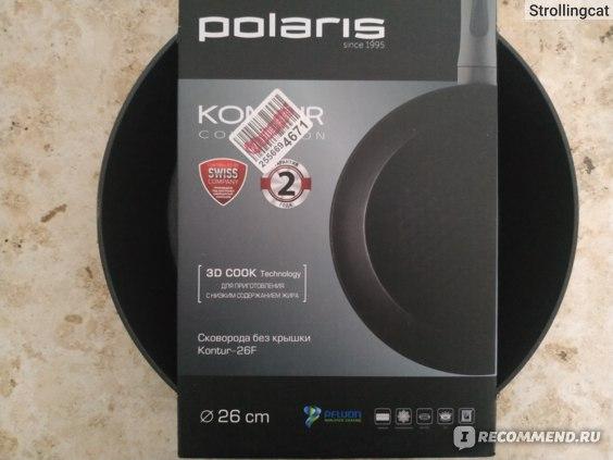 Сковорода POLARIS Kontur-26F фото