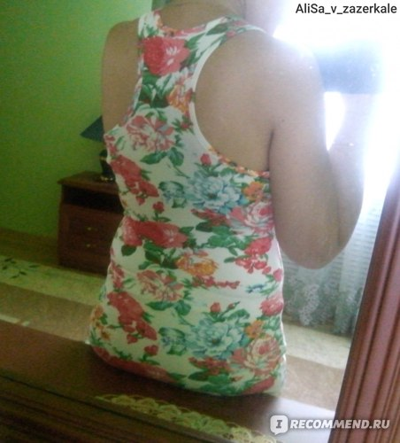 Майка AliExpress Women Floral Printing T-shirt Apparel & Accessories Undershirt Tops & Tees Fashion Summer Camis фото
