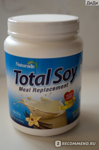 Коктейль Naturade Total Soy, Meal Replacement, Vanilla фото