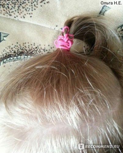 Резинка на голове ребенка