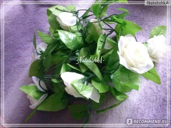 Гирлянда из роз