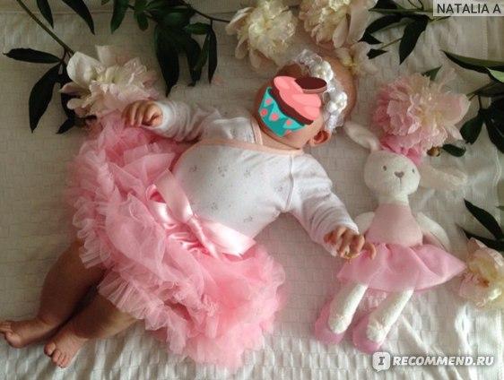 Юбка AliExpress Solid Tutu Skirts Girls Summer Style Pettiskirt with Ruffle Saias Meninas Baby Tutu Skirt Roupas Infantis Menina One Piece фото