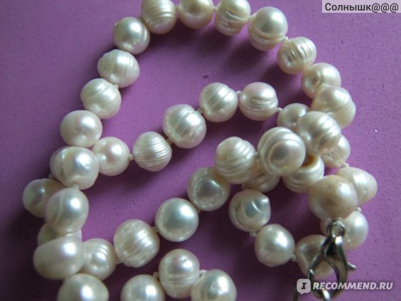 Бусы Aliexpress Жемчуг 9-10MM special sales of natural (thread) freshwater pearl necklace 18 inches фото