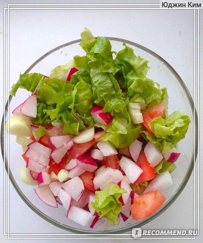 Рецепты салатов диеты магги