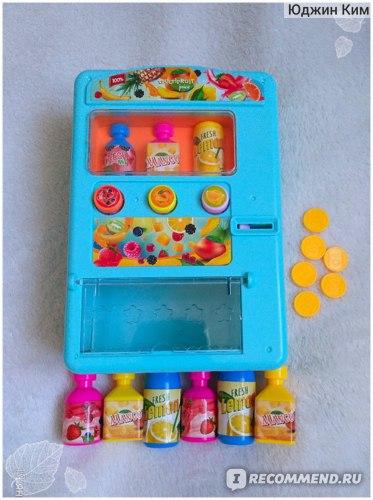 Игровой набор автомат с напитками в фикс прайсе gsm в игровых автоматах
