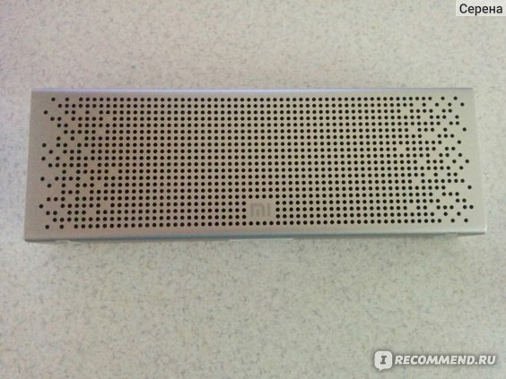 Динамик Xiaomi Портативная Bluetooth колонка Mini Square Box 2 фото