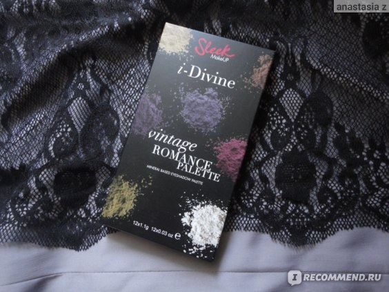 Палетка теней Sleek I-Divine in Vintage Romance Palette фото