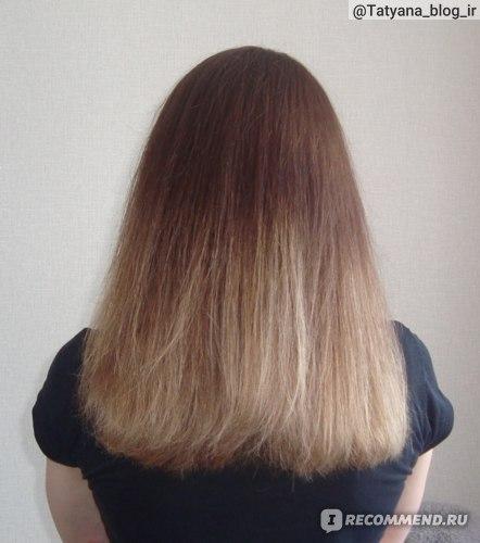 Состояние волос после применения филлера Масил.