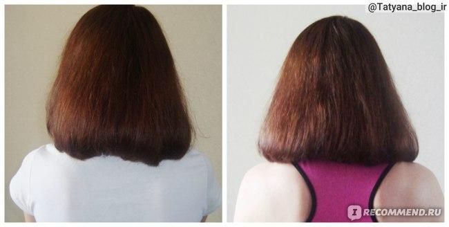 Маска против выпадения и роста волос - результат применения.