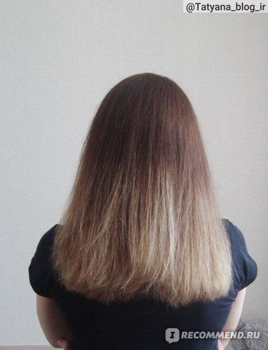 Волосы после применения филлера Masil 8 Seconds Salon Hair Repair Ampoule.